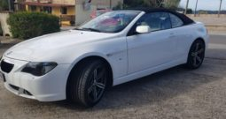 BMW Serie 6 Cabrio 630 – IN ARRIVO –