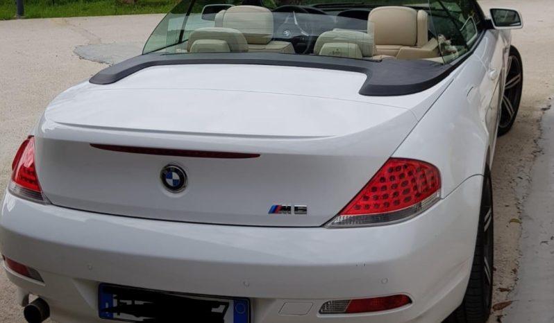 BMW Serie 6 Cabrio 630 full